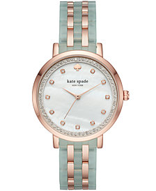 kate spade new york Women's Monterrey Two-Tone Stainless Steel Bracelet Watch 38mm