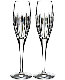 Waterford Mara Flutes, Set of 2