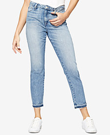 Sanctuary High-Waist Straight-Leg Jeans