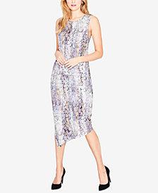 RACHEL Rachel Roy Draped Asymmetrical Dress, Created for Macy's
