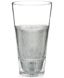 "Waterford Diamond Line 12"" Vase"