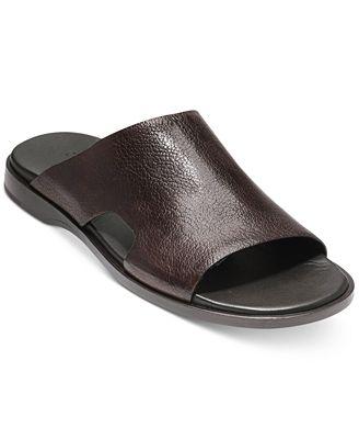 Goldwyn Leather Slides