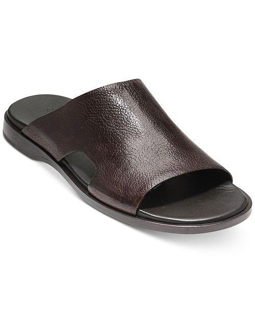 Goldwyn Leather Slides Buy Cheap Manchester nEUEut
