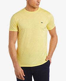 Lacoste Men's Crew-Neck Pima Cotton T-Shirt