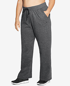 Champion Plus Size Fleece Open-Leg Sweatpants