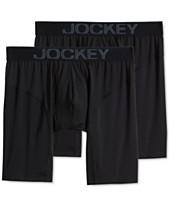 004bb277b Jockey Men s 2-Pk. RapidCool Midway Boxer Briefs. Quickview. 7 colors