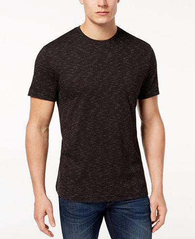 Club Room Men's Textured Stripe T-Shirt, Created for Macy's