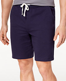 "Club Room Men's Classic-Fit Knit Drawstring 8.5"" Shorts, Created for Macy's"