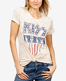 Lucky Brand KISS Graphic-Print T-Shirt, Created for Macy's