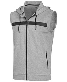 Men's Sleeveless Zip Hoodie, Created for Macy's