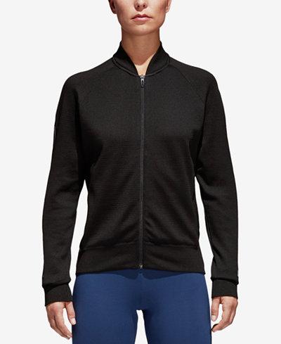 adidas ID Knit Bomber Jacket