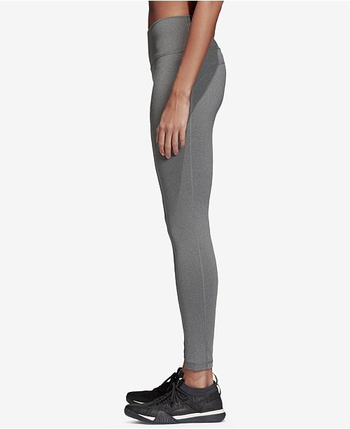 Leggings Dark adidas Ankle Heather Believe This Grey qgx4nORp