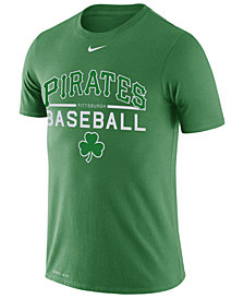 Nike Men's Pittsburgh Pirates Clover Dry Practice T-Shirt