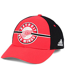 adidas Detroit Red Wings Circle Adjustable Cap
