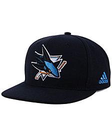 adidas San Jose Sharks Core Snapback Cap
