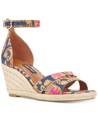 641e2ba01d1 Nine West Jeranna Wedge Sandals - Sandals   Flip Flops - Shoes - Macy s  Bridal and Wedding Registry