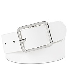 INC Casual Solid Belt, Created for Macy's