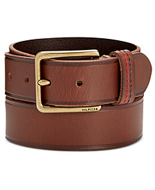 Tommy Hilfiger Men's Leather Casual Belt