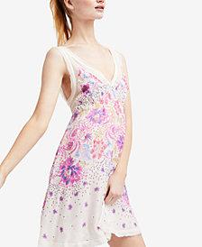 Free People Longwood Printed Slip Dress