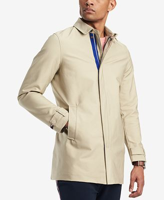 Tommy Hilfiger Men's Wishart Core Khaki Trench Coat, Created for Macy's