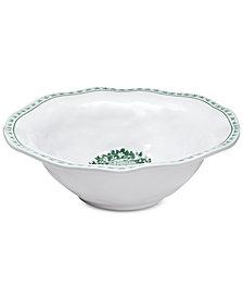 Q Squared Yuletide Serving Bowl