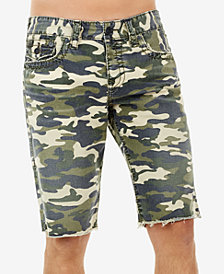 True Religion Men's Ricky Camo-Print Shorts