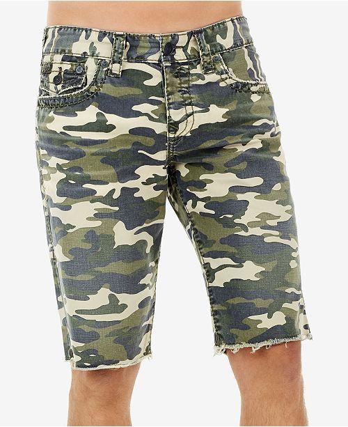 True Religion Men s Ricky Camo-Print Shorts - Shorts - Men - Macy s e26a493aaf1