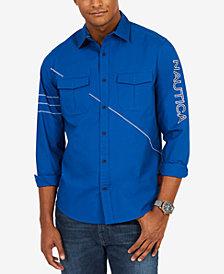 Nautica Men's Coastal Sailing Shirt