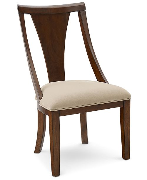 Furniture Portland Upholstered Side Chair, Created for Macy's