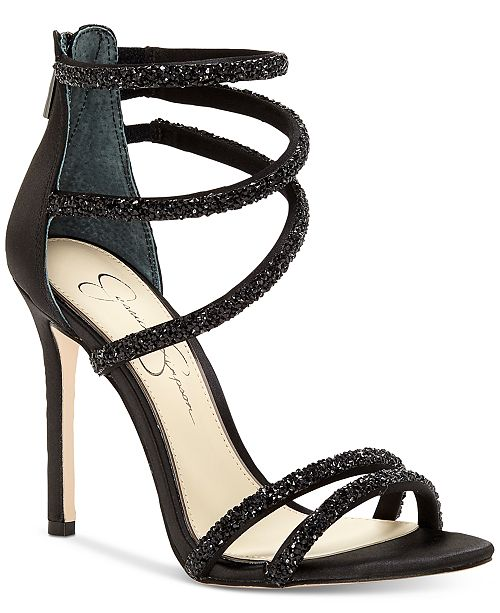 7699fd9d7eec Jessica Simpson Jamalee Gemstone Evening Sandals   Reviews ...