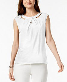 Crossover Cutout Top