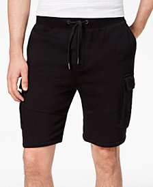 American Rag Men's Knit Cargo Sweatshorts, Created for Macy's