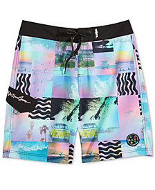 "Maui and Sons Men's Like That Photo-Print 20"" Board Shorts"
