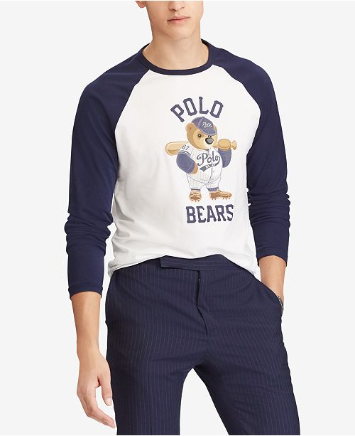 998be5f5b2b45 ... Polo Ralph Lauren Men s Custom Slim Fit Polo Bear T-Shirt