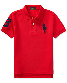 Ralph Lauren Cotton Polo, Toddler Boys
