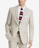 ead0c35d3a41 Tommy Hilfiger Men s Modern-Fit Flex Stretch Tan Suit Jacket