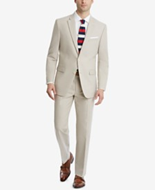 Tommy Hilfiger Men's Modern-Fit Flex Stretch Tan Suit Separates