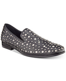 Kenneth Cole Reaction Men's Trophy Round Stud Smoking Slippers