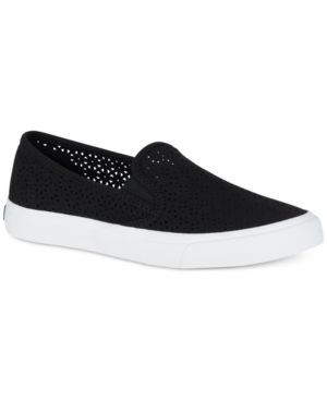 Sperry Women's Seaside Perforated Slip-On Sneakers Women's Shoes 5918125