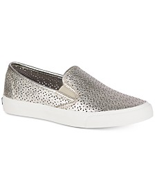 Sperry Women's Seaside Perforated Slip-On Sneakers