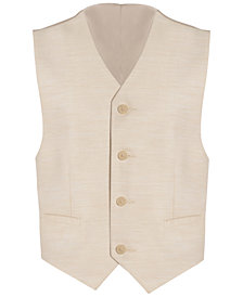 Calvin Klein Stretch Twill Vest, Big Boys