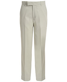 Calvin Klein Stretch Tick Weave Pants, Big Boys
