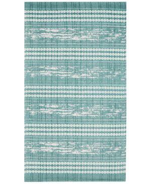"Nourison Rushmore Herringbone Geo-Stripe 27"" x 45"" Accent Rug Bedding 5610749"