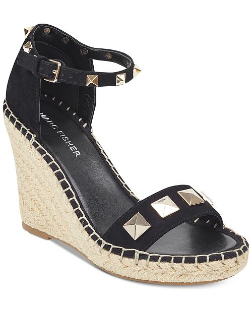 Knoll Studded Wedge Sandals