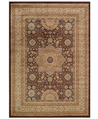 CLOSEOUT! Momeni Area Rug, Belmont BE-03 Brown 5' 3