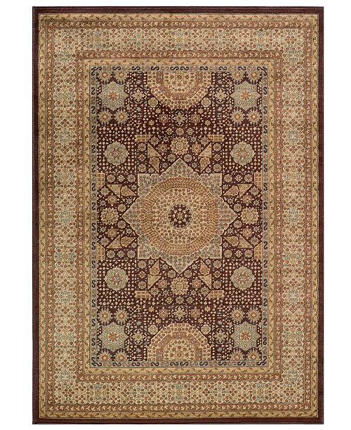 "Momeni CLOSEOUT! Area Rug, Belmont  BE-03 Brown 2' 0"" x 3' 0"""