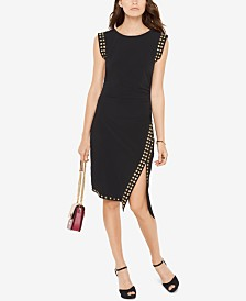 Michael Michael Kors Studded Sheath Dress in Regular & Petite Sizes