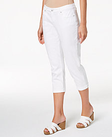 Style & Co Petite Cropped Boyfriend Jeans, Created for Macy's