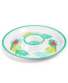 Martha Stewart Collection Melamine Chip & Dip Bowl, Created for Macy's