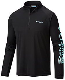 Columbia Men's PFG Terminal Tackle Quarter-Zip Jacket